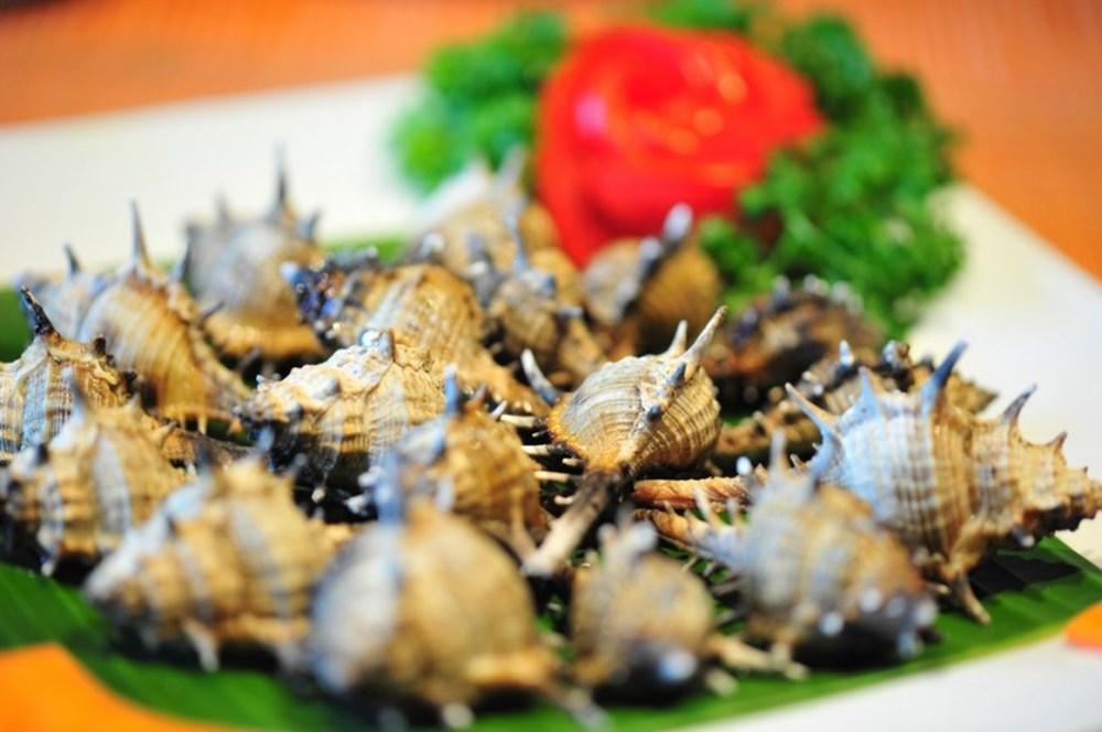 oc gai nuong mo hanh phu quoc
